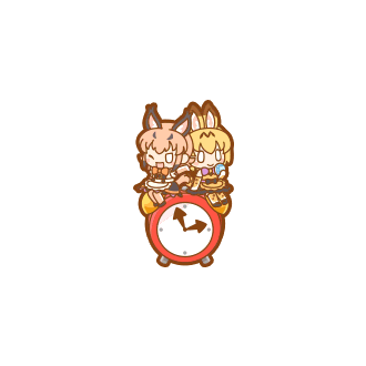 ToyServal & Caracal Clock.png