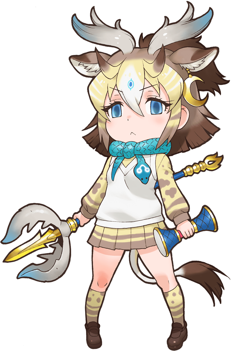 Sivatherium Japari Library The Kemono Friends Wiki