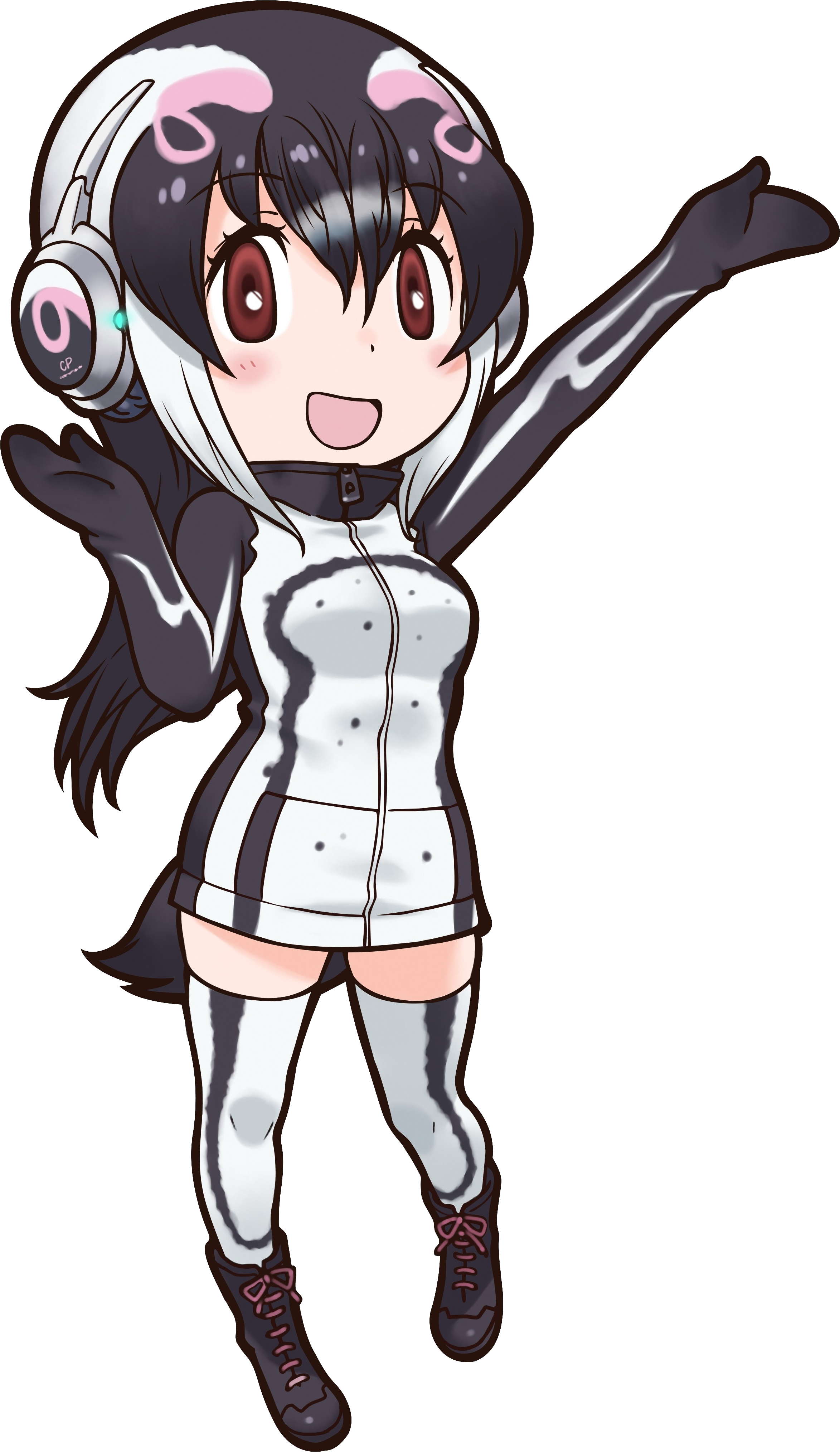 African Penguin Japari Library The Kemono Friends Wiki