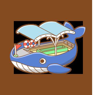 Whale Pleasure Ferry - Japari Library, the Kemono Friends Wiki