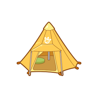 ToyYellow One-Pole Tent.png