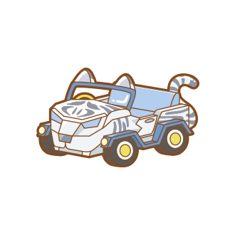 ToyStriped Tiger Car.png