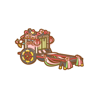 ToyPeach Blossom Ox Cart.png