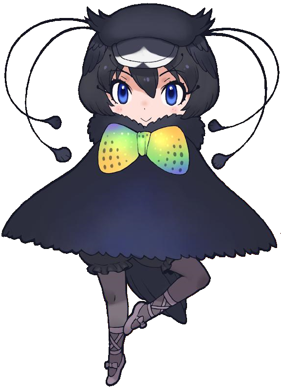 Western Parotia Japari Library The Kemono Friends Wiki