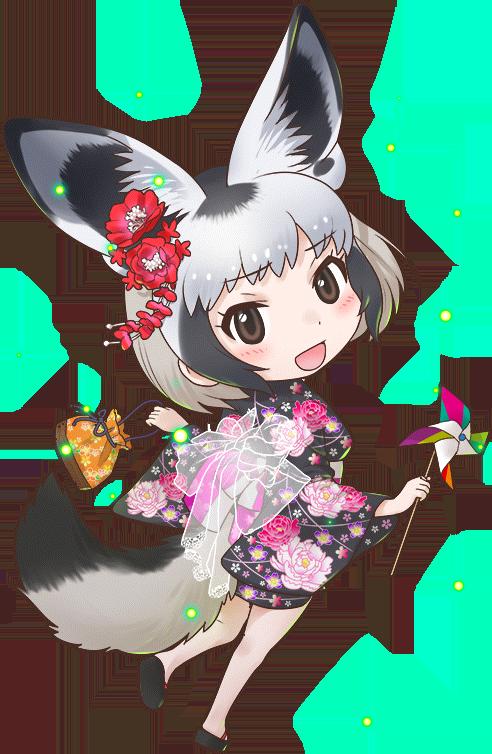 Festival Of Speed >> Bat-Eared Fox/Festival (Costume) - Japari Library, the Kemono Friends Wiki